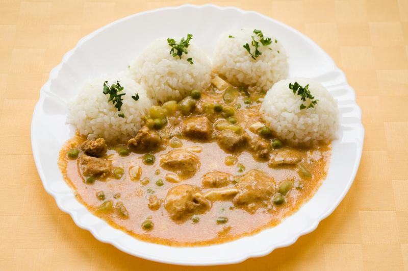 Bravčové ragú, ryža