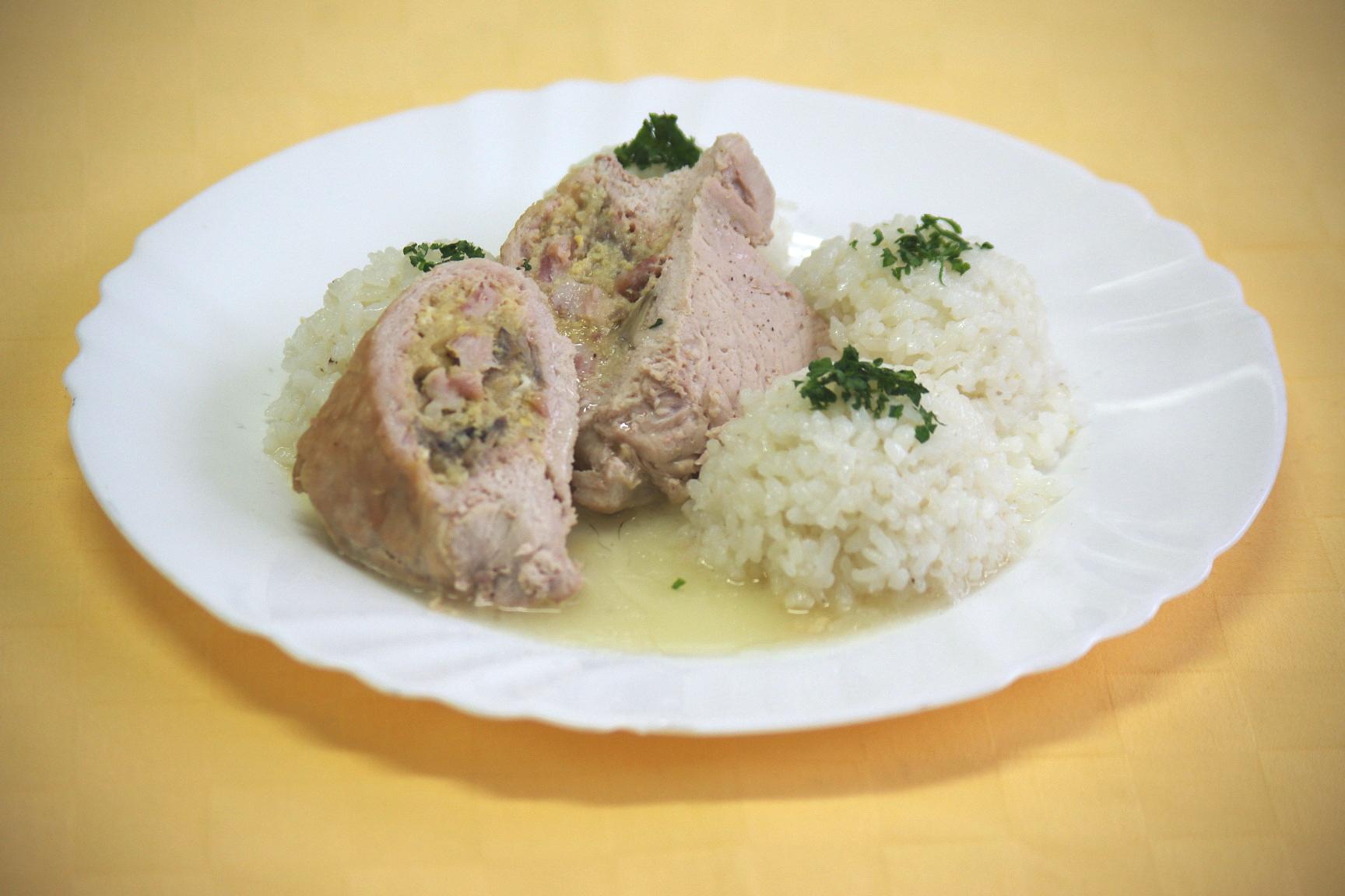 Bravčová pastierska kapsa, ryža