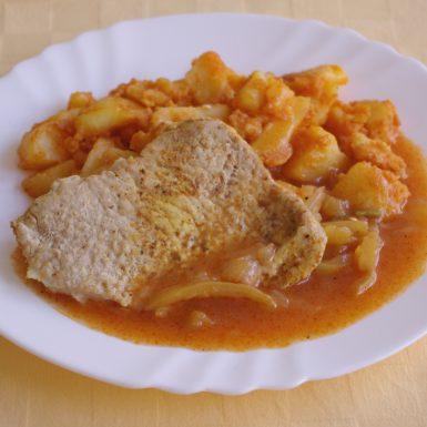 Brav.belehradský-rezeňpaprikové-zemiaky