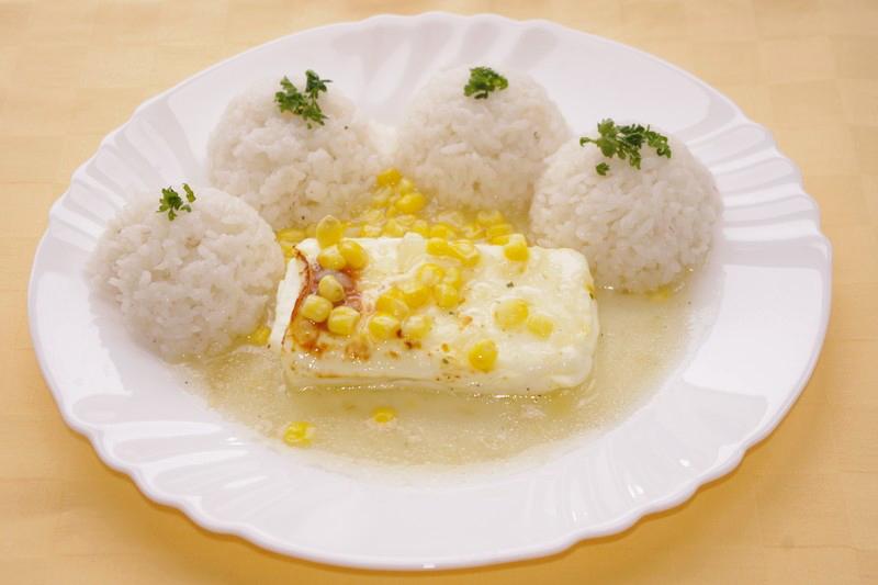 Eggcheese na kukurici,ryža.