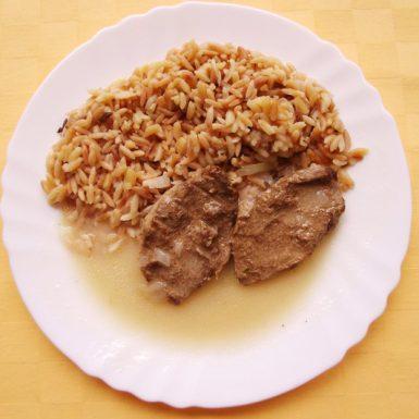 Hovädzí-plátok-Goody-foody-na-horčici-slovenská-ryža