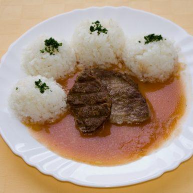 Hovädzí-plátok-Goody-foody-na-rýnsky-spôsob-ryža