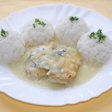 Kurací-plátok-Goody-foody-zapečený-so-syrom-nivaryža