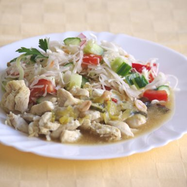 Kuracie-prsia-Kung-paomiešaná-kapusta-so-zeleninou