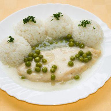 Kuracie-prsia-na-hrášku-ryža1
