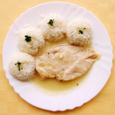 Kuracie-prsia-na-prírodno-ryža