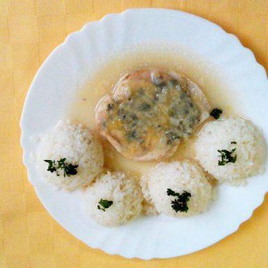 Kuracie-prsia-zapečené-so-syrom-niva-ryža