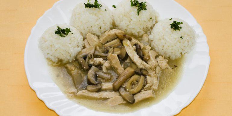 Kuracie-rezance-Goody-foody-na-šampiňónoch-ryža