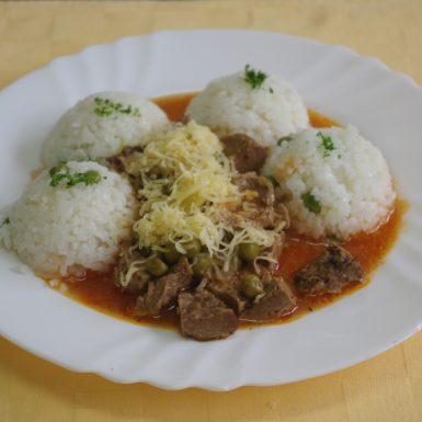 Mexický-guláš-z-hov.-Goody-foodyhrášková-ryža