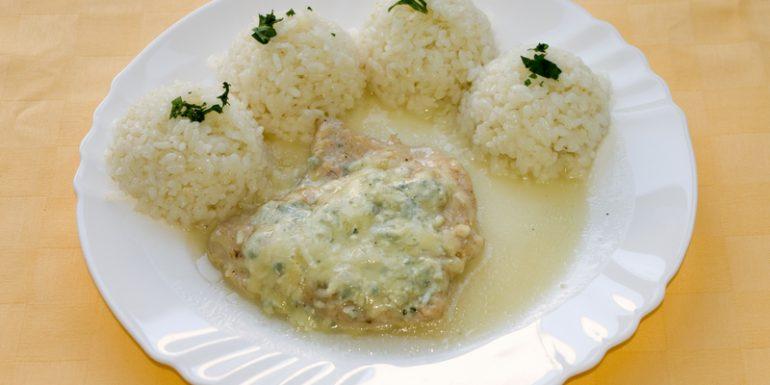 Morčací-plátok-zapečený-s-nivou-ryža