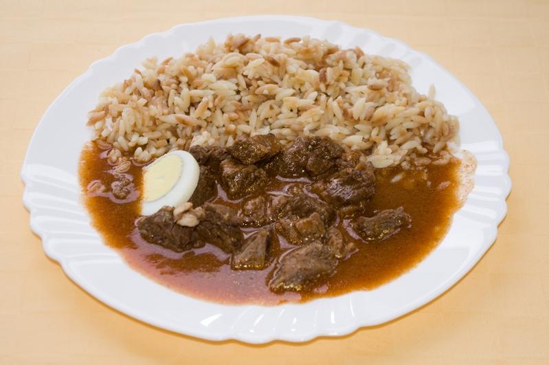 Námornícke mäso, slovenská ryža