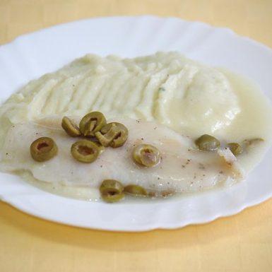 Pangasius-pečený-s-olivamizemiaková-kaša