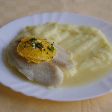 Tilapia-na-pomarančochzemiaková-kaša