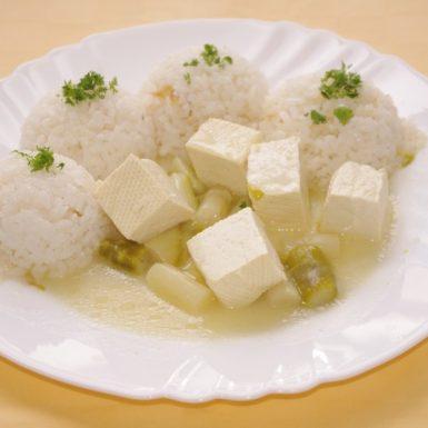 Tofu-so-šparglou-a-ryža