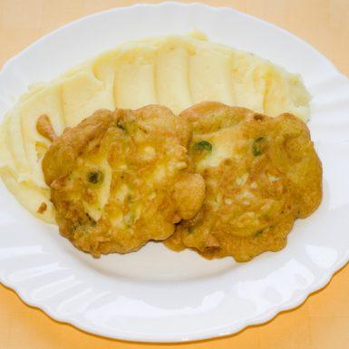 Tofu-v-hráškovom-cestíčku-zemiaková-kaša