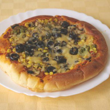 Vegetariánska-pizza-so-syrom