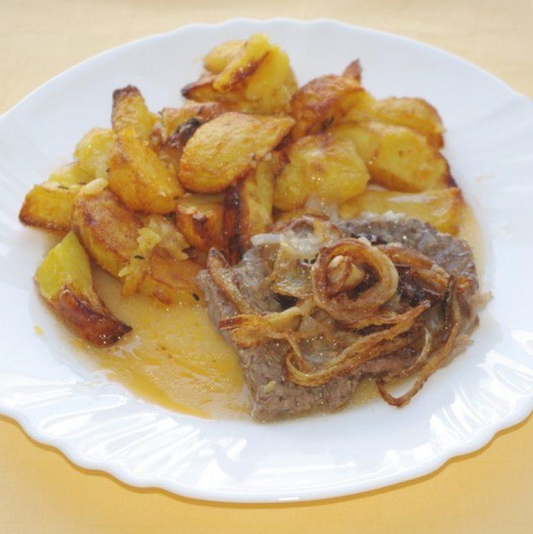 Viedenská-roštenkapečené-zemiaky